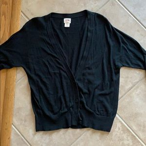 Mossimo Black Button Up Cardigan